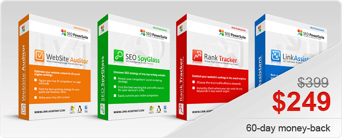 Seo PowerSuite Black Friday (November 2015) – 65%-off This Black Friday only!