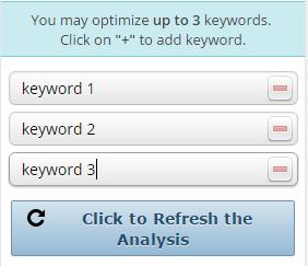 SEOPressor Keyword Target