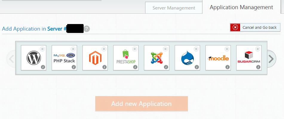 Applications in Cloudways