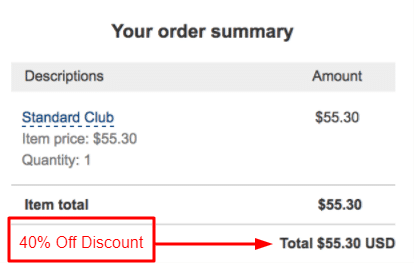 themify standard club discount
